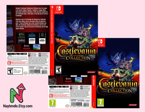 Castlevania Anniversary Collection - Custom Nintendo Switch Art Cover