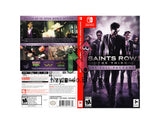 Saints Row The Third: The Full Package - Custom Nintendo Switch Art Cover w/ Game Case