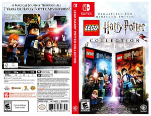 LEGO Harry Potter Collection - Custom Nintendo Switch Art Cover w/ Game Case