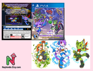 Freedom Planet - Custom PS4 Cover Art