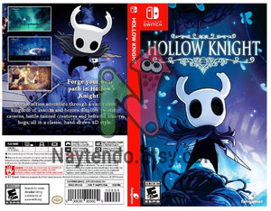 Custom Nintendo Switch Art Cover w/ Game Case - Hollow Knight