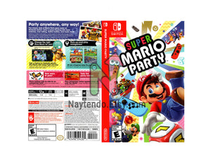 Super Mario Party - Custom Nintendo Switch Art Cover w/ Game Case