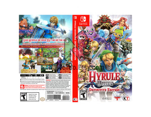 Hyrule Warriors: Definitive Edition - Custom Nintendo Switch Art Cover w/ Game Case