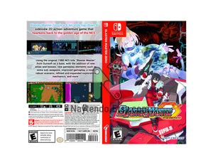 Blaster Master Zero - Custom Nintendo Switch Art Cover w/ Game Case