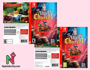 Super Chariot - Custom Nintendo Switch Art Cover w/ Game Case