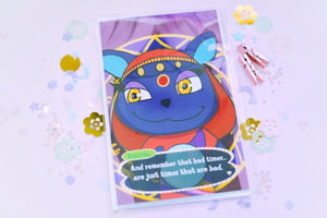 Animal Crossing Katrina - Bad Times Are Just Times That Are Bad Condolences Greeting Card