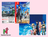 Sword Art Online ~Hollow Realization~ Deluxe Edition - Custom Nintendo Switch Art Cover w/ Game Case