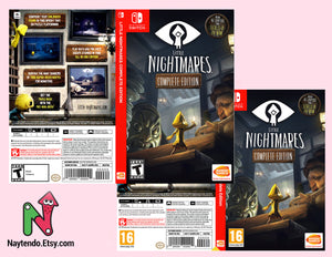 Little Nightmares - Custom Nintendo Switch Art Cover w/ Game Case