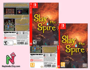 Slay the Spire - Custom Nintendo Switch Art Cover w/ Game Case