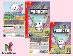 Forager - Custom Nintendo Switch Art Cover w/ Game Case