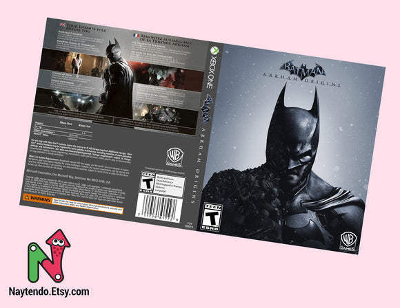 Batman Arkham Origins - Custom Xbox One Art Cover