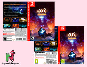 Ori and the Blind Forest: Definitive Edition - Custom Nintendo Switch Art Cover w/ Game Case