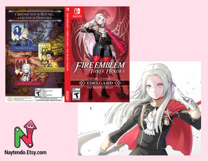 Fire Emblem: Three Houses | EDELGARD | Black Eagles | Custom Nintendo Switch Art Cover
