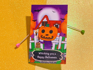 Animal Crossing Jack Happy Halloween - Greeting Card