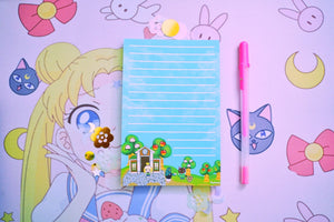 Animal Crossing Notepad | 4 x 6 Notepad | New Leaf | New Horizon