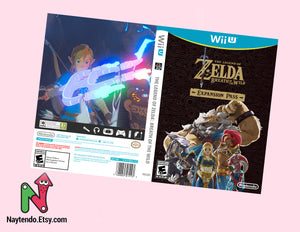 Zelda: Breath of the Wild Custom Nintendo Wii U Art Cover