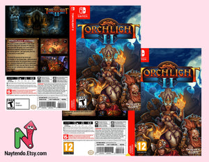 Torchlight II - Custom Nintendo Switch Art Cover w/ Game Case
