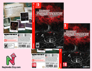Deadly Premonition Origins - Custom Nintendo Switch Art Cover w/ Game Case