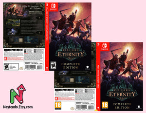Pillars of Eternity: Complete Edition - Custom Nintendo Switch Art Cover
