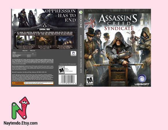 Assassin's Creed Syndicate - Custom Xbox One Art Cover