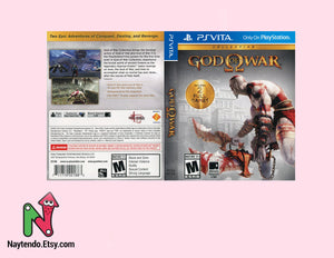 God of War Collection - PS Vita Custom Cover