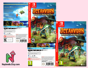 Oceanhorn: Monster of Uncharted Seas Custom Nintendo Switch Art Cover