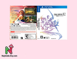 Final Fantasy X-2 - Custom PSVita Cover