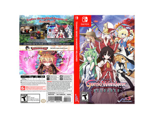 Touhou Genso Wanderer Reloaded - Custom Nintendo Switch Art Cover w/ Game Case