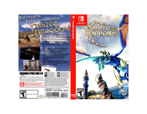 Panzer Dragoon - Custom Nintendo Switch Art Cover