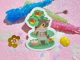 Animal Crossing - Fauna VINYL Sticker Holographic or Gloss