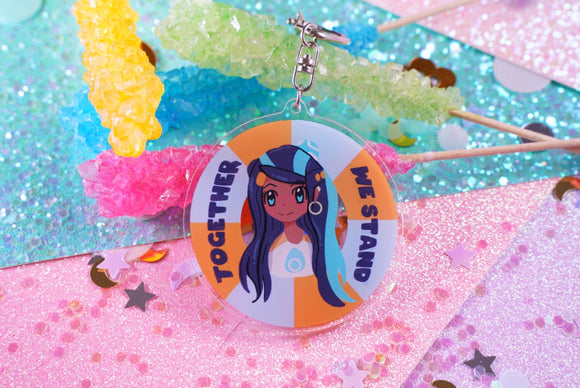 Together, We Stand Charity Charm | Pokémon Nessa