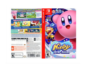 Kirby Star Allies - Custom Nintendo Switch Art Cover