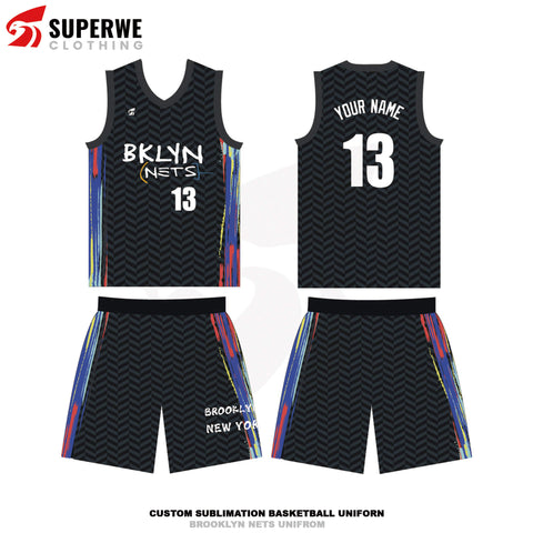 Custom Brooklyn Nets 2020-21City Edition NBA Basketball Jersey - Superwe clothing