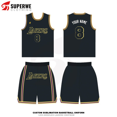 Custom Black Mamba Edition Los Angeles Lakers NBA Basketball Jersey - Superwe clothing