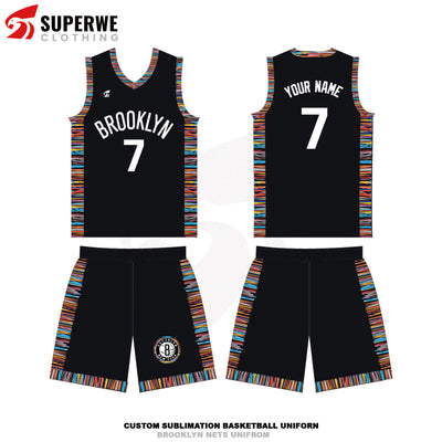 Custom 2019-20 Brooklyn Nets City Edition NBA Basketball Jersey - Superwe clothing