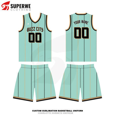 Custom Charlotte Hornets City Edition NBA Basketball Jersey - Superwe clothing