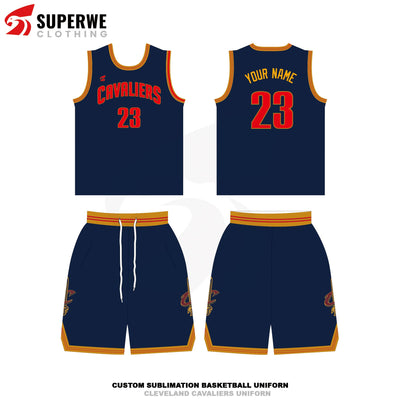 Custom Cleveland Cavaliers NBA Basketball Jersey - Superwe clothing