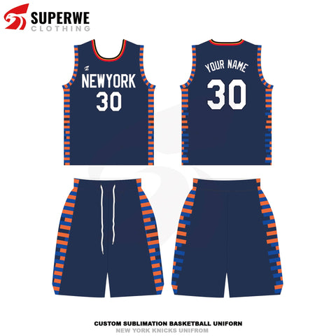 Custom New York Knicks City Edition NBA Basketball Jersey - Superwe clothing