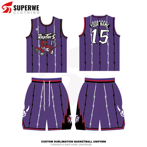 Custom Purple Toronto Raptors City Edition NBA Basketball Jersey - Superwe clothing