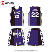 Custom Sacramento Kings Throwback NBA Basketball Jersey - Superwe clothing