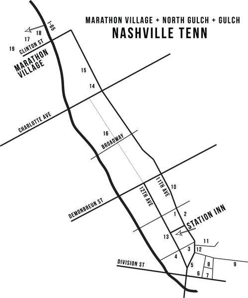 Nashville's Emerging Shopping District