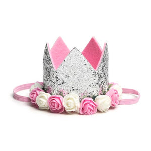 Baby Gift - Silver Crown + Tutu Gift Set 2T-6Y