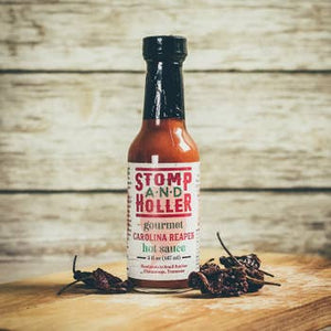 Stomp and Holler Gourmet Carolina Reaper Hot Sauce