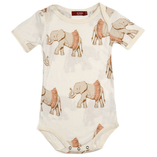 Organic One Piece Tutu Elephant 6-12M