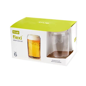 Flexi Beer Can, Six Pack