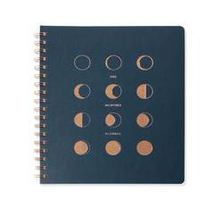 MOON PHASES NON-DATED MONTHLY PLANNER