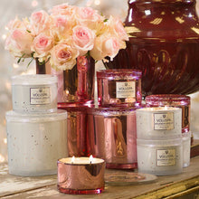 Load image into Gallery viewer, PROSECCO ROSE 11 OZ CORTA MAISON GLASS CANDLE W/ LID