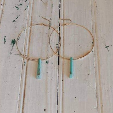Petite Native Hoop Earrings
