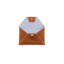 Load image into Gallery viewer, Leather Business Card Holder, Cognac