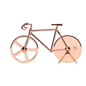 Bicycle Pizza Cutter / Copper
